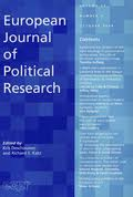 European journal of political research